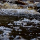 Stream bubbles. Image: Kilgarron, Flickr