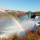American Falls view from Goat Island. Image: Angelica Morrison