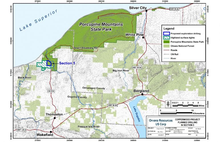 Public Unhappy With Porcupine Mountains Mining