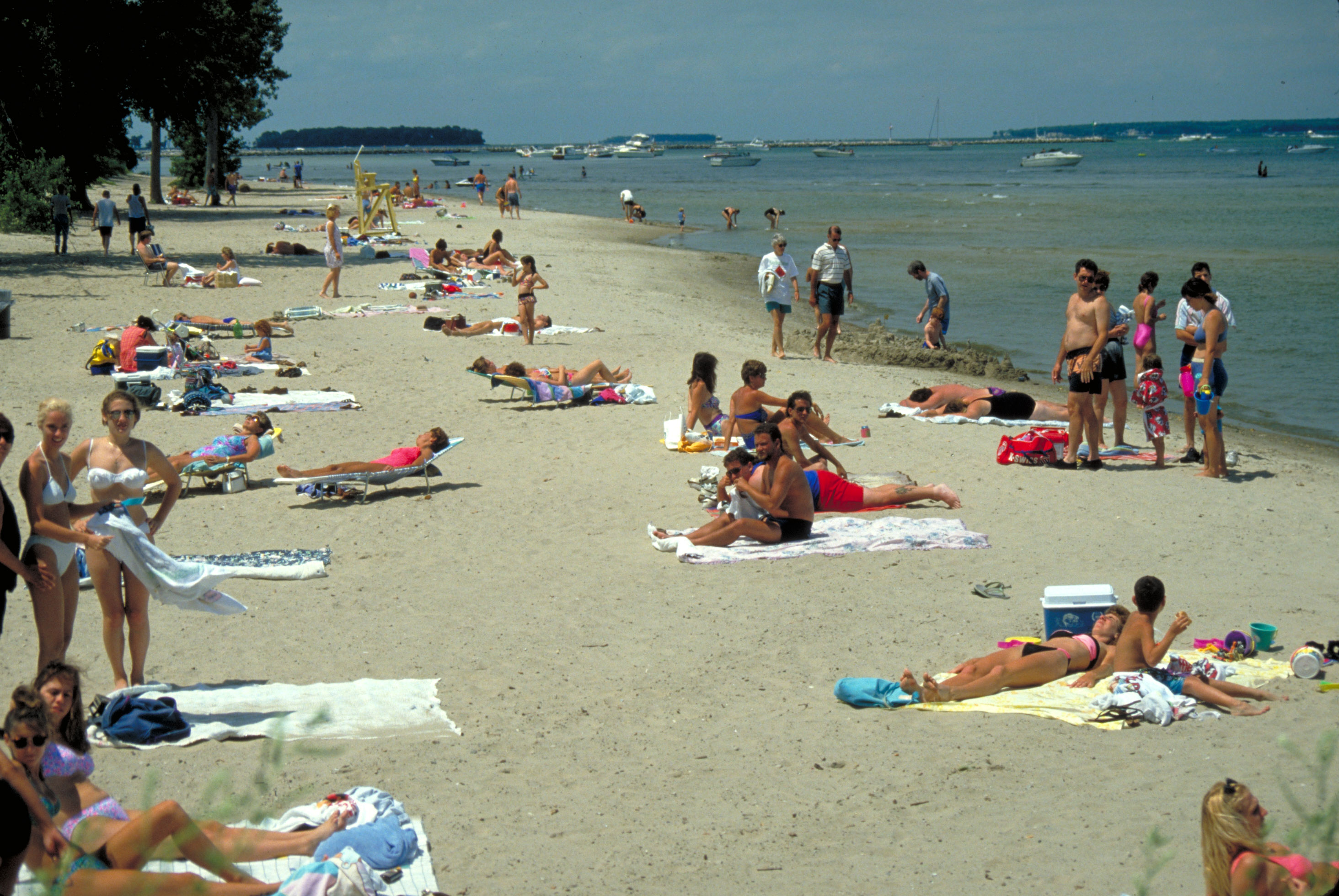 Are Beaches Public Where Roads End Great Lakes Echo